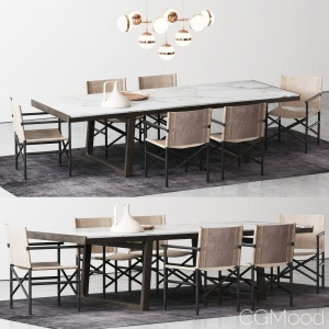 Poliform Opera Dining Table set