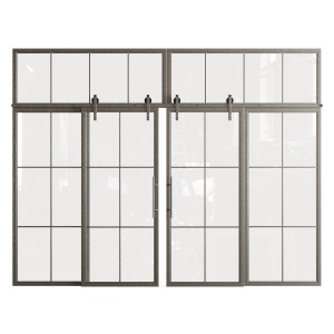 Glass partition (doors)