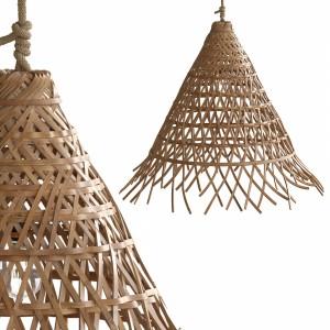 Bamboo Cone Lamp