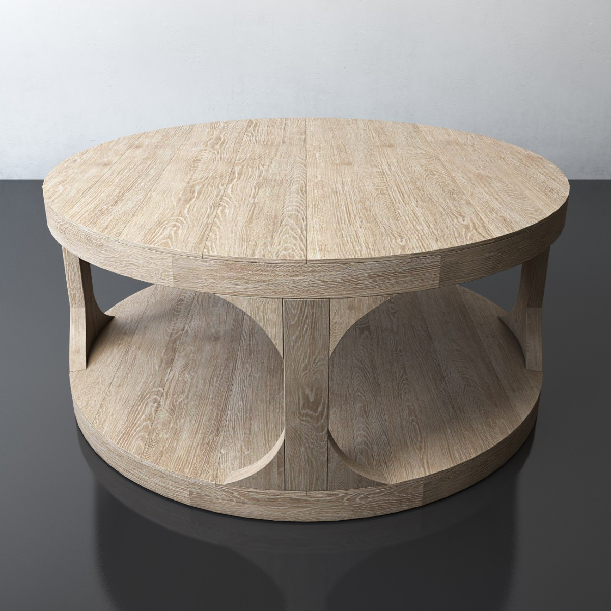 Martens Round Coffee Table 3d Model For Vray