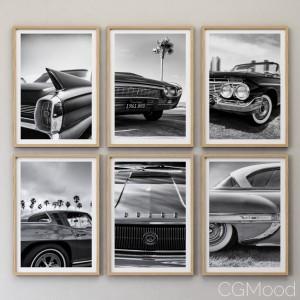 JUNIQE Car picture set-01