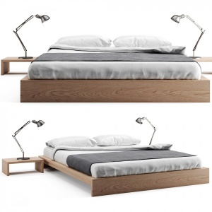Ki-Low Loft Wooden Bed