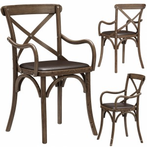 Restoration Hardware Madeleine Leather Armchair