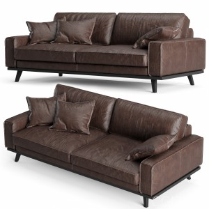 Industry West Finch Leather Sofa