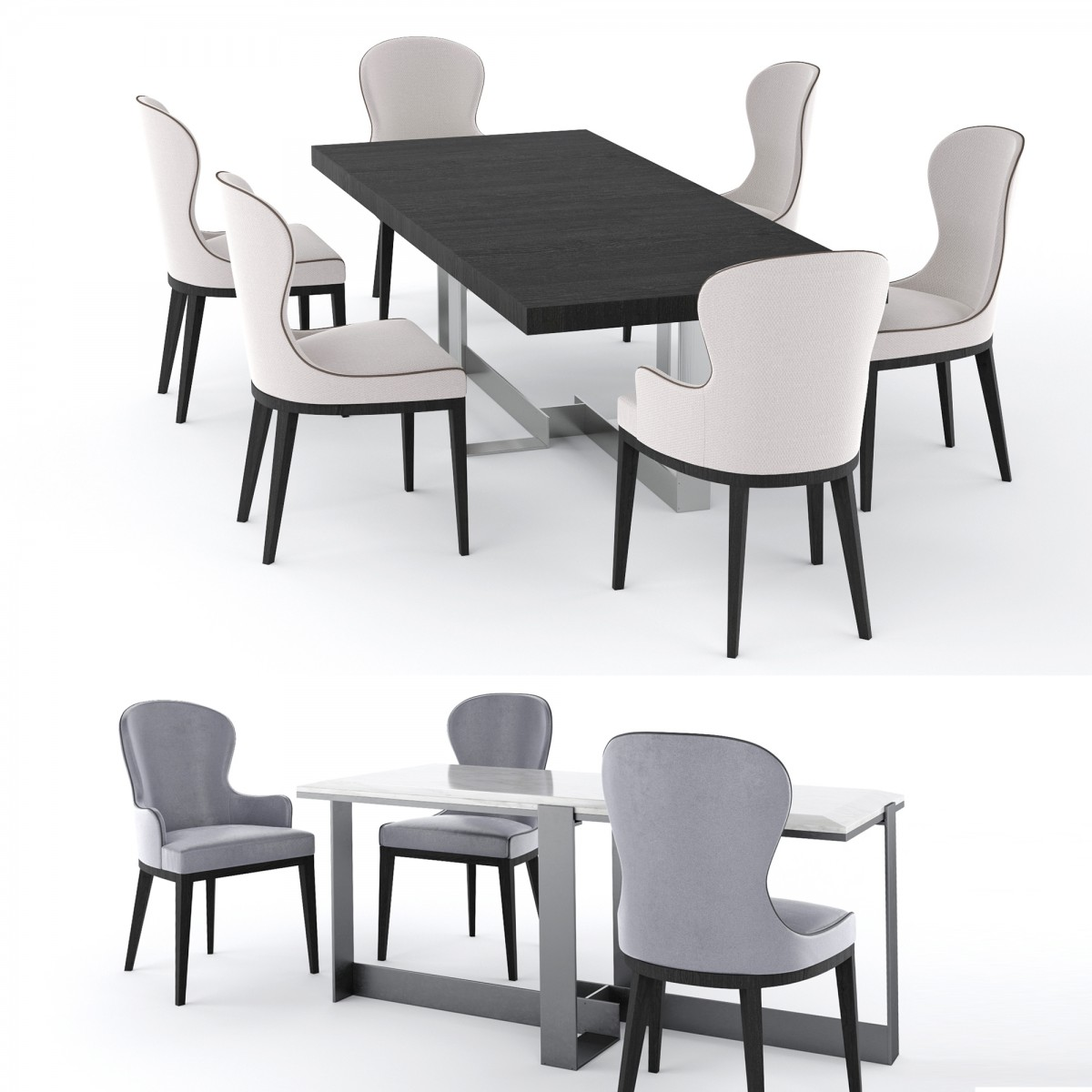 Miraculous Table Jacques Chair You By Flexform 3D Model For Corona Gmtry Best Dining Table And Chair Ideas Images Gmtryco