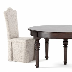 Table And Chair By Dolfi