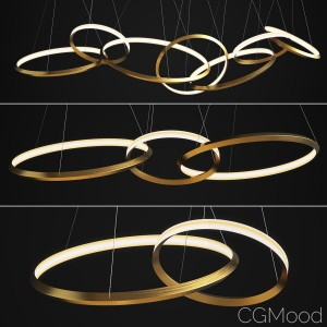 Christopher Boots Oracle Light Ring Set