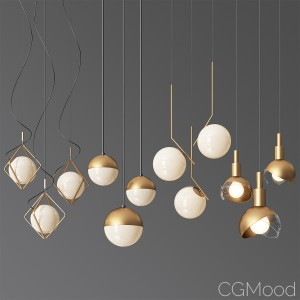 Ceiling Light Collection 5 - 4 Type