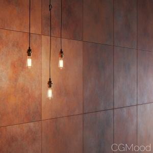 Corten Steel (6 variations, PBR, 8k)