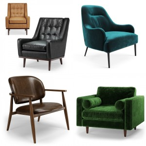 Article Furniture Chairs Collection