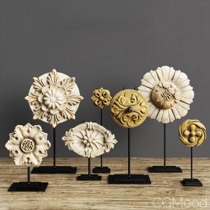 Restoration Hardware  Architectural Ornaments