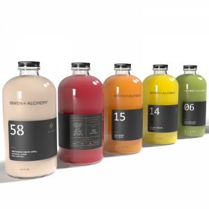 Owen + Alchemy Juice Bottles