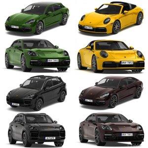 Seven Porsche Cars 2019