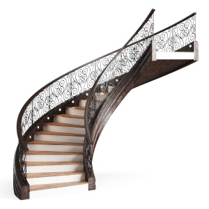 Classical spiral stair