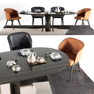 Minotti Dining Bellagio Set 2