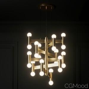 Cb2 - Munroe Brass Pendant Light