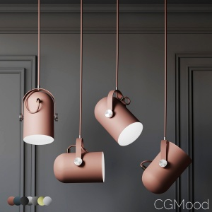 Warmly - Modern Nordic Angled Drop Lights - 7 Colo