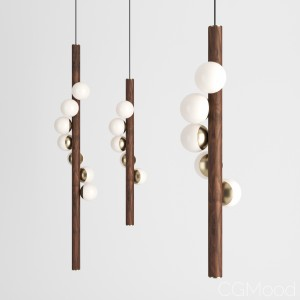 Willow Pendant Lamp By Hollis+morris