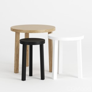 Alex Side Tables By E15