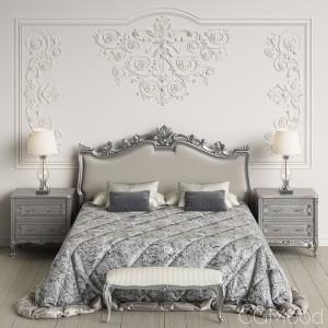 Angelo Cappellini Giglio Bedroom