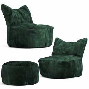 Cierre Imbottiti Bubba Bean Bag Chair