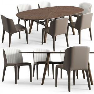 Giorgetti Dining Table Ago And Chair Bicolette