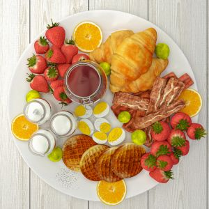 Pancake Board Decoration Set