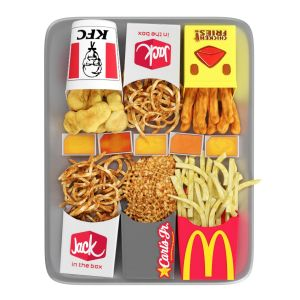 Fastfood Fries/snack Set 2