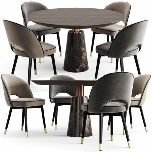 Eichholtz Dining Table Genova And Chair Cliff