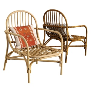 Mina Natural Rattan Chair