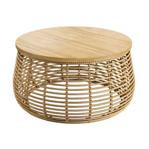 Natural Rattan Bamboo Coffee Table Hazel