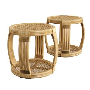 Montego Rattan Side Table