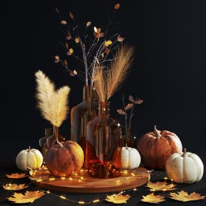 Pumpkin Decorative Set
