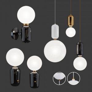 Parachilna Aballs Lamps + 3 Materials