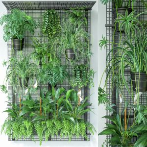 Wall Grid Plant Pot 8