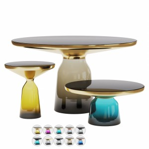 Bell Tables Set + 10 Materials