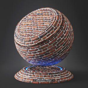 Brick 04 – Material (vray + Corona)