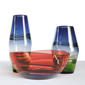 Glass Vase Set 1