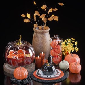 Decorative Set08-pumpkin Decorative Set