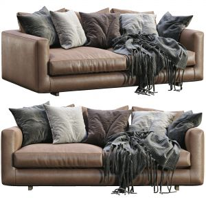 Leather Sofa Malibu By Marac