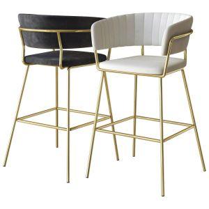 Hanna Bar Chair Zuo Modern