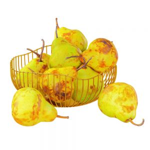 Pears In A Decorative Vase
