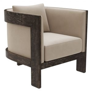 Restoration Hardware Whitby Leather Chair