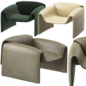 Le Club Armchair By Poliform