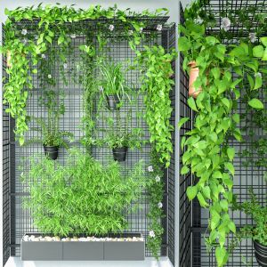 Wall Grid Plant Pot 9