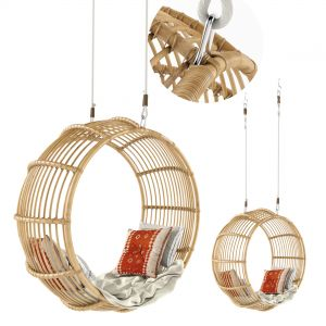 Rattan Swing Chair Natural