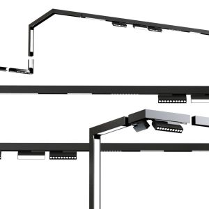 Ceiling Track And Spot Light System