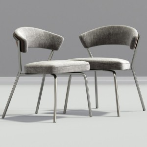 Leatherette Stacking Modern Dining Chair Estyle 77
