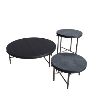 Minotti Torii Round Coffee Table