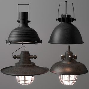 Industrial Lighting Set